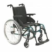 Fauteuil roulant dossier inclinable