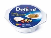 plats mixés dinde à la ratatouille delical