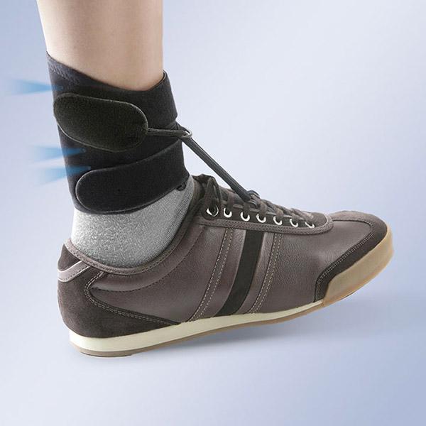releveur de pied dynamique sur chaussure Boxia de Orliman