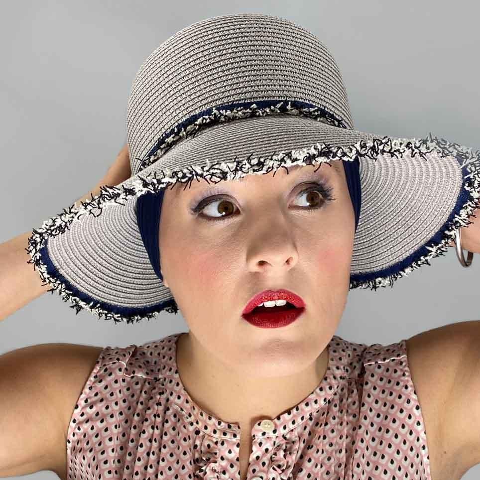 chapeau femme opérée