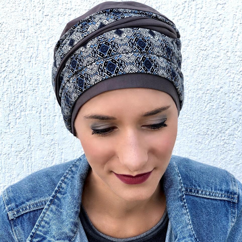 foulard femme opérée
