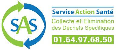 logo service action sante