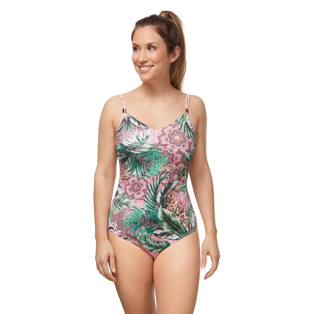 Femme opérée - Amoena - maillot de bain une-pièce City safari